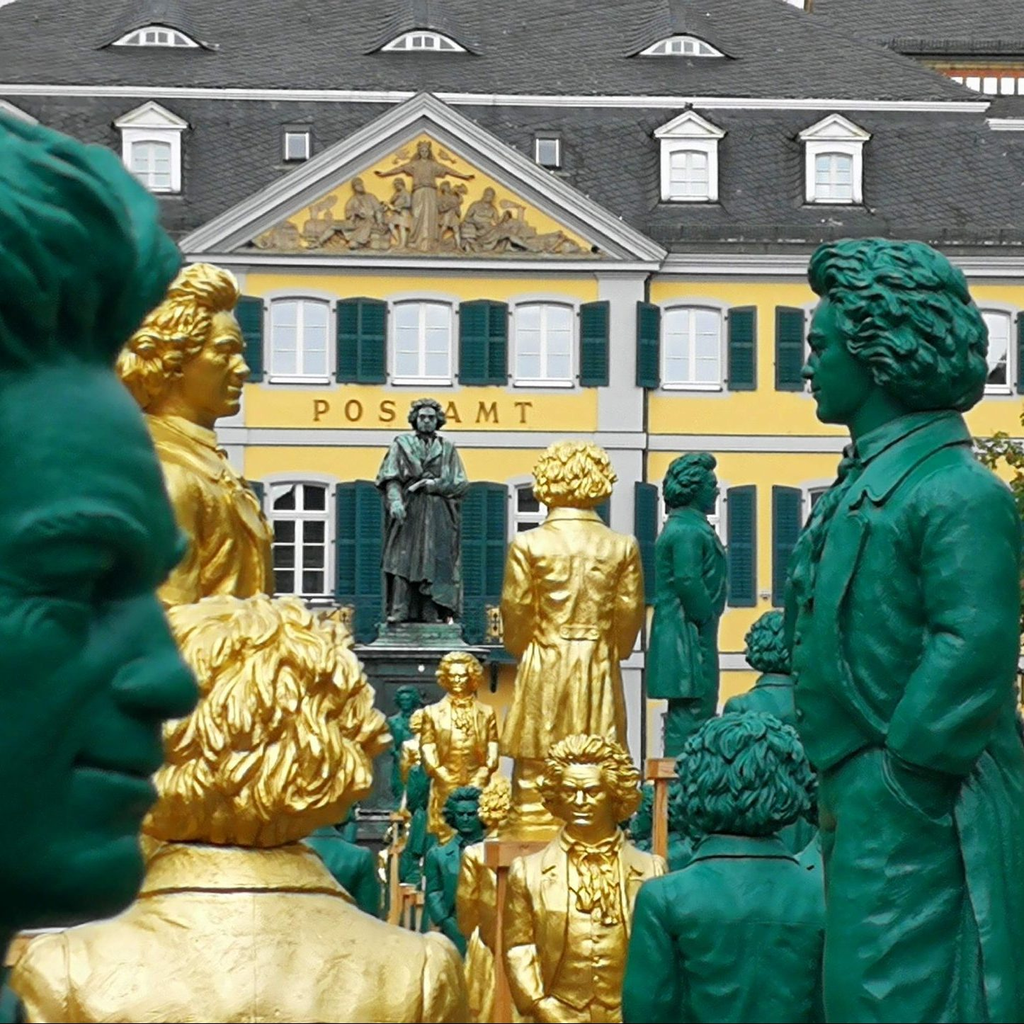 Beethoven Statues